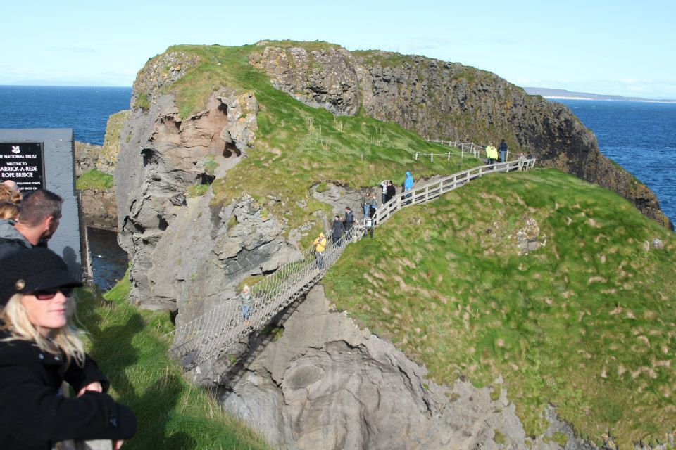 Carrick-a-Rede rope bridge- Real Life Recess
