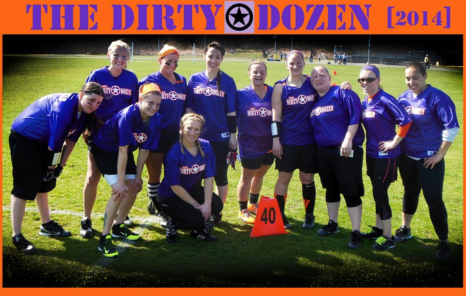 the Dirty Dozen- my brand new team this season.  what fun we had!
