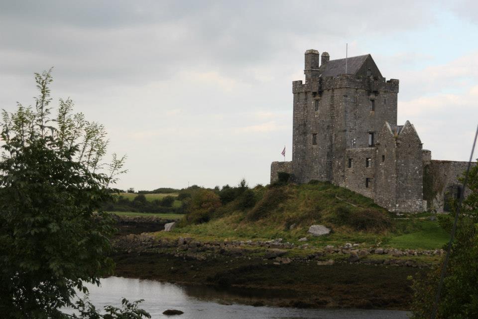 Dunluce Castle reali life recess