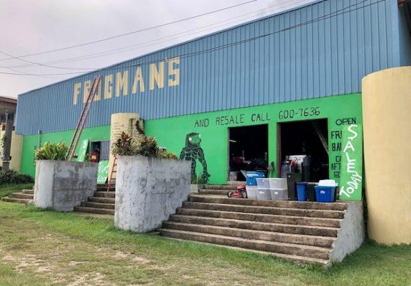 frogmans resale shop cayo