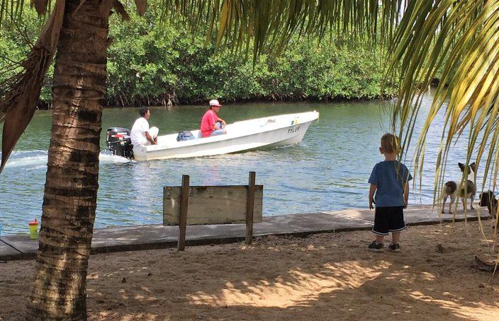 Boat on Lagoon Real Life Recess