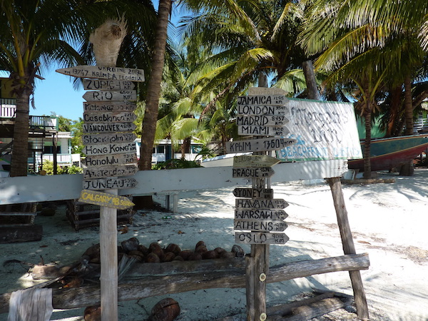 Caye Caulker street signs- Real Life Recess