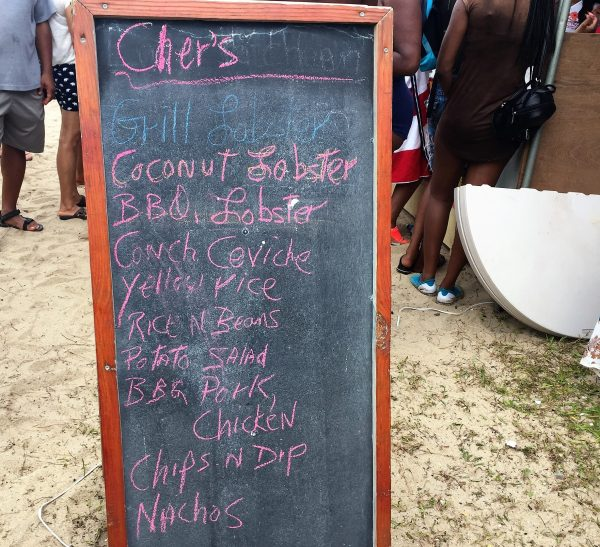 Cher's Lobsterfest Menu Real Life Recess