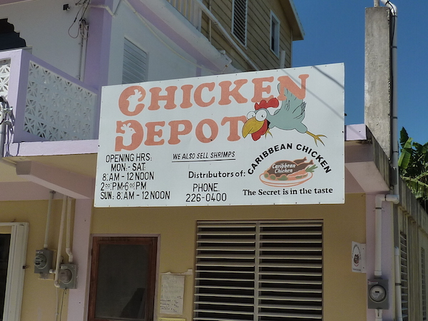 Chicken Depot Caye Caulker - Real Life Recess