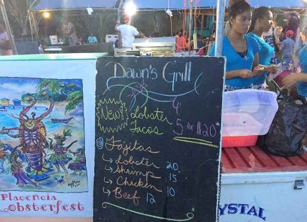 Dawns Grill Lobsterfest Menu Real Life Recess