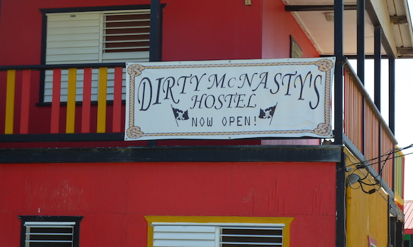 Dirty McNasty Hostel Caye Caulker- Real Life Recess