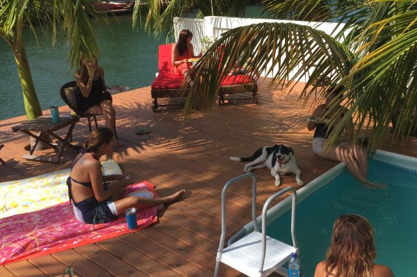 Eating byb Pool- Real Life Recess