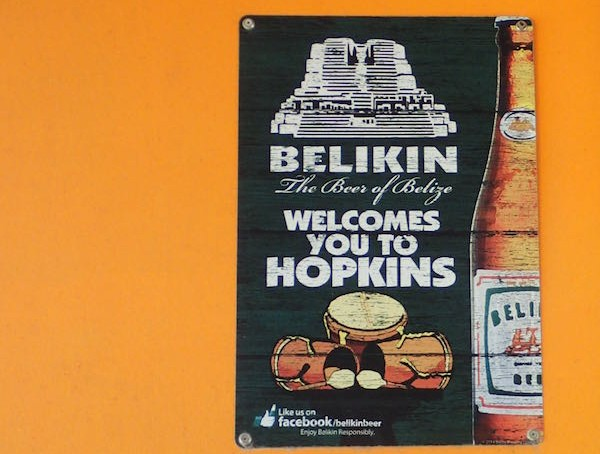 Hopkins Belikin sign- Real Life Recess