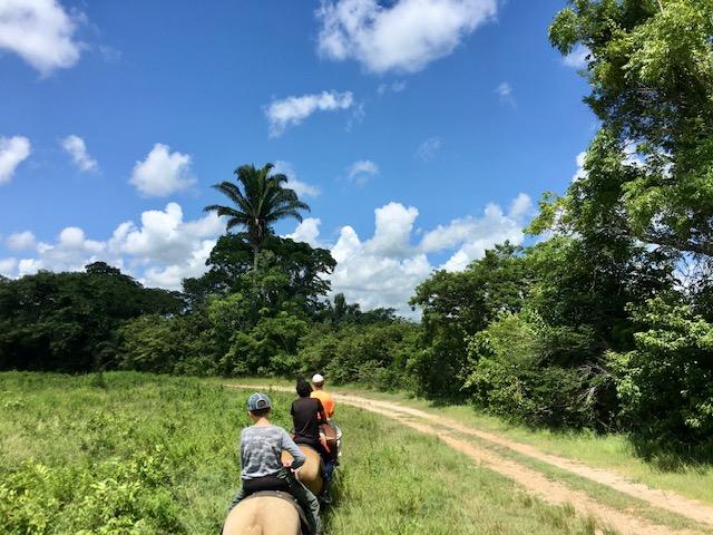 kids trip to Belize