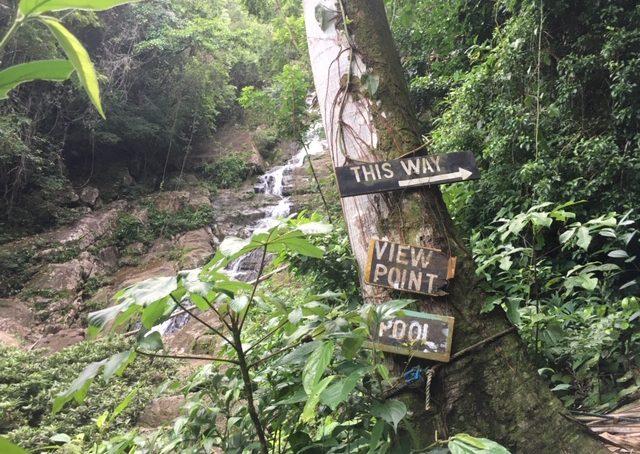 Antelope Falls Trail