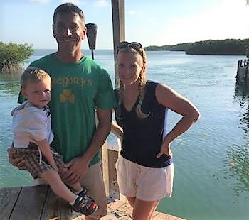 Family photo in key west