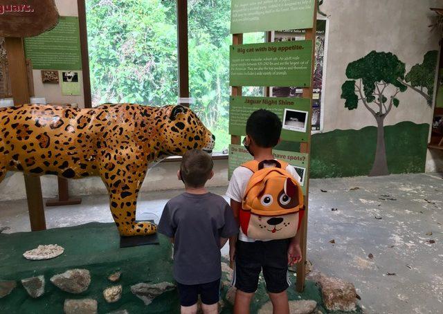 kids in Cockscomb Basin Jaguar Reserve Belize