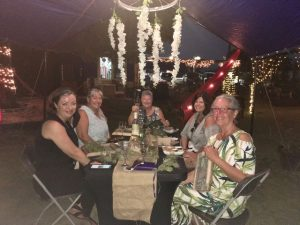 fundraiser attendees at Lush Life Belize in Stann Creek