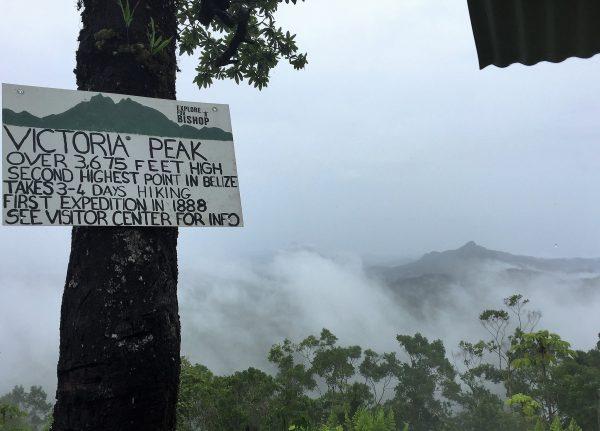 Victoria's Peak Cockscomb Belize Real Life Recess