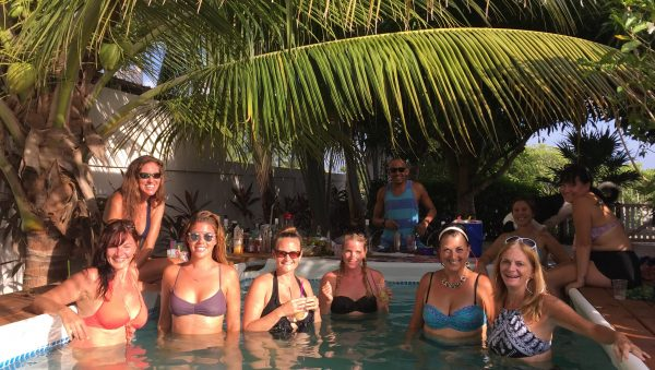 Lounging in the Pool- Belize Bartender Workshop- Real Life Recess