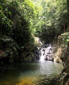 waterfall in belize