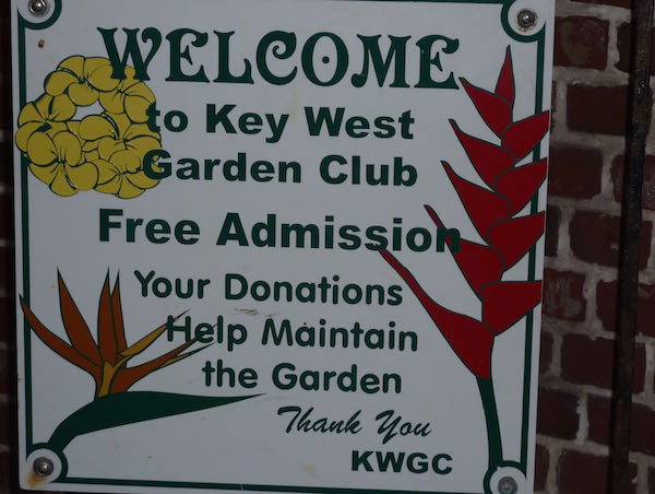 Key West Garden Club- Real Life Recess