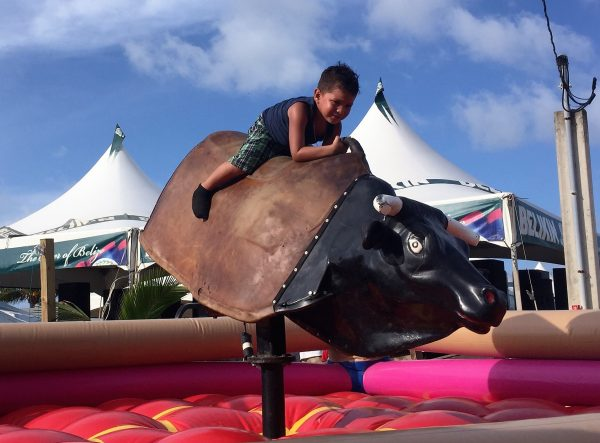Kids Bull Riding Lobsterfest Real Life Recess