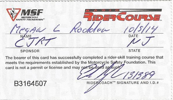 Rider permit-Real Life Recess