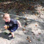 Mitch grabbing mangos Real Life Recess