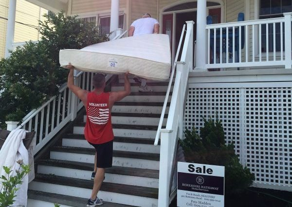 Moving into Simpson Ave House in Ocean City