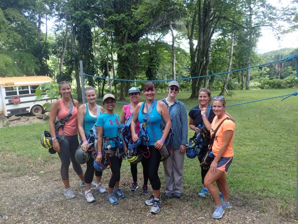 Group Photo Rappelling Bocawina