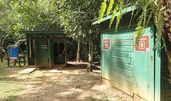 St Hermans Blue Hole National Park rustic bathrooms- Real Life Recess