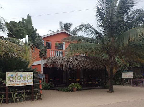Thongs Cafe Hopkins Village Belize - Real Life Recess
