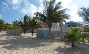 View of Tri Tan beach cabanas Placencia- Real Life Recess