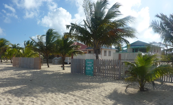 View of Tri Tan beach cabanas Placencia- Real Life Recess