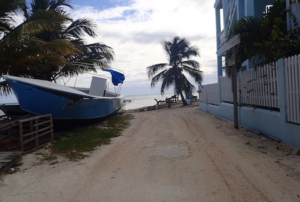beach path caye caulker -Real Life Recess