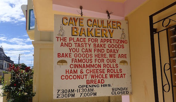 Caye Caulker Bakery- Real Life Recess