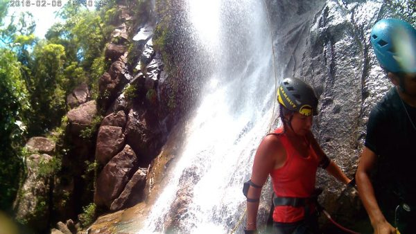 Close up of falls- Real Life Recess