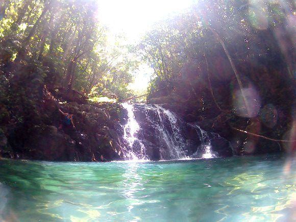 Jumoing in swim hole - Real Life Recess