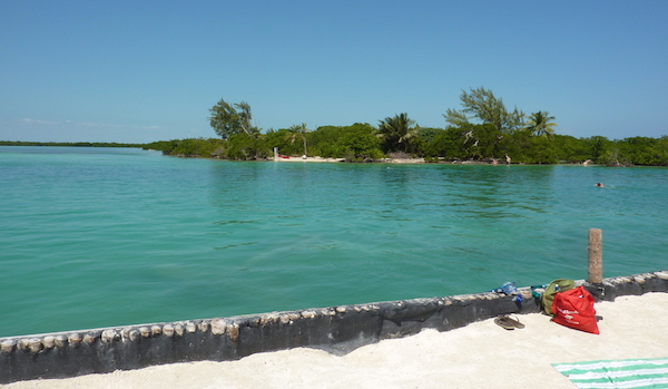 look across the Split at Caye Caulker- Real Life Recess